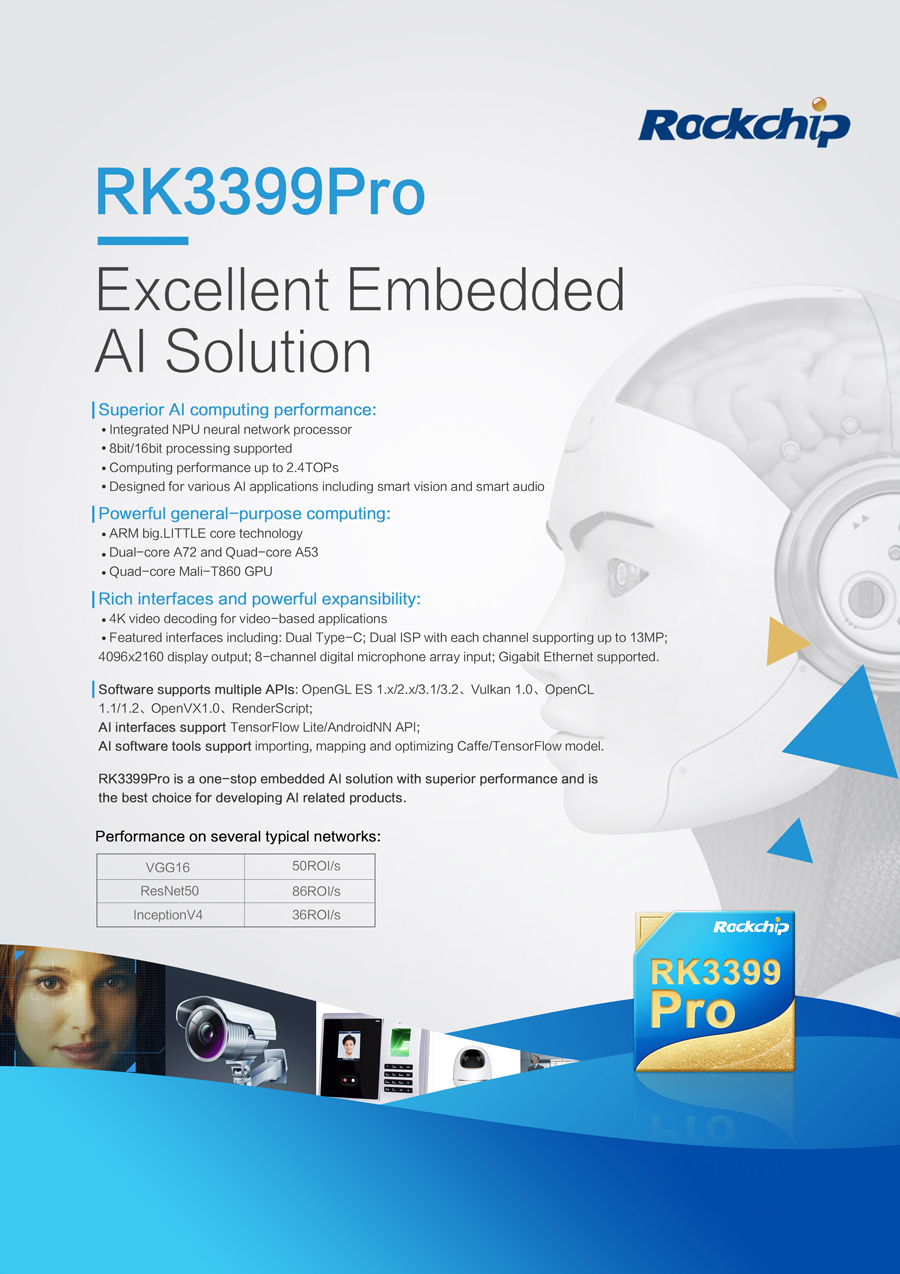 RK3399Pro features